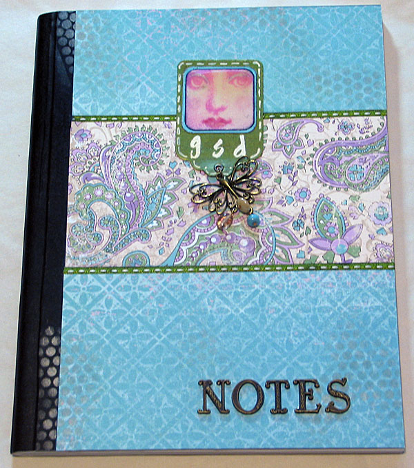 Altered Notebook #020